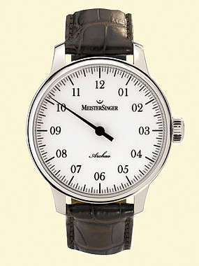 MeisterSinger Archao stainless steel, AMAS2
