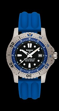 Traser Diver Long-Life Blue Limited Edition - Doprodej modelu -25%