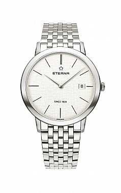 Eterna Eternity For Him Quartz 40 silver steel