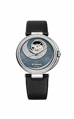 Eterna Grace Open Art pearl satin diamonds
