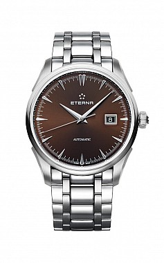 Eterna 1948 Legacy Date Brown steel