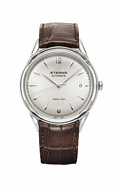 Eterna Heritage 1948 For Him Automatic silver leather