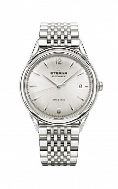 Eterna Heritage 1948 For Him Automatic silver steel