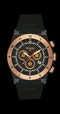 Traser Classic Chronograph Carbon Pro