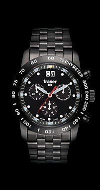 Traser Classic Chronograph Big Date Pro Blue