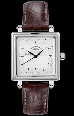 Mühle-Glashütte Teutonia II Quadrant Medium Silber