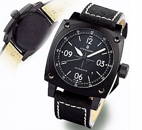 Steinhart AVIATION Automatik black DLC