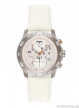 Traser Ladytime Chronograph Silver
