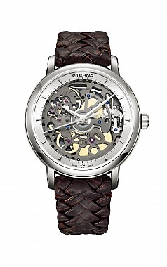 Eterna 1856 Skeleton brown - Limited Edition