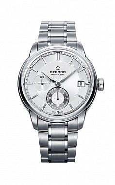 Eterna Adventic GMT white steel