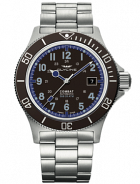 Glycine Combat SUB automatic 3908.171AT.C.MB