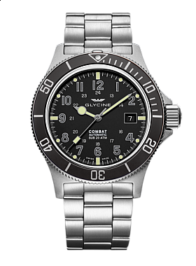 Glycine Combat SUB automatic 3908.191AT.GD.MB