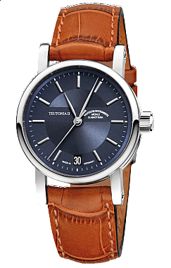 Mühle-Glashütte Teutonia II Medium Blau