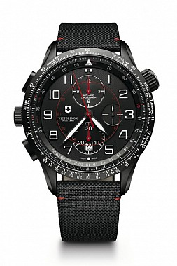 Victorinox AirBoss Mach 9 Black Edition leather