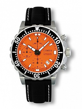 Limes Endurance 1Tausend Chronograph Orange
