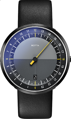 Botta-Design UNO 24 Black Edition Quartz
