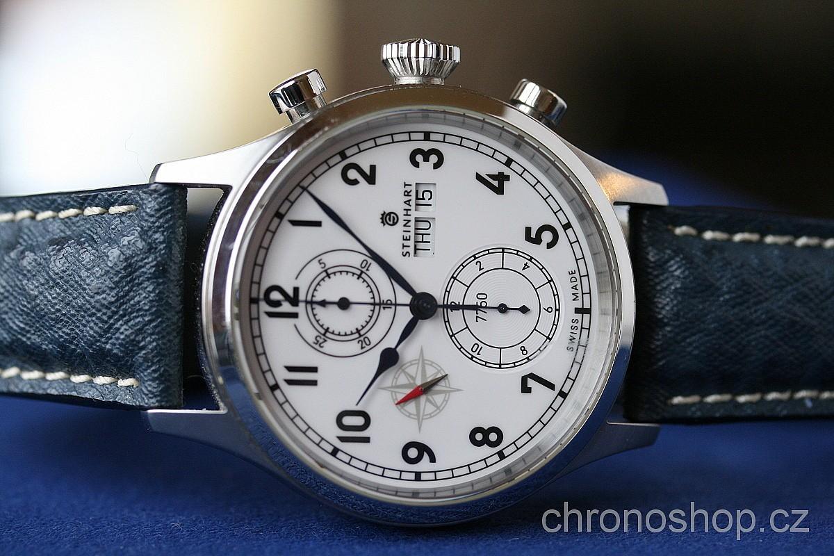 b3f04e842 Steinhart Marine Chronograph white BAZAR 420150025 | Chronoshop.cz