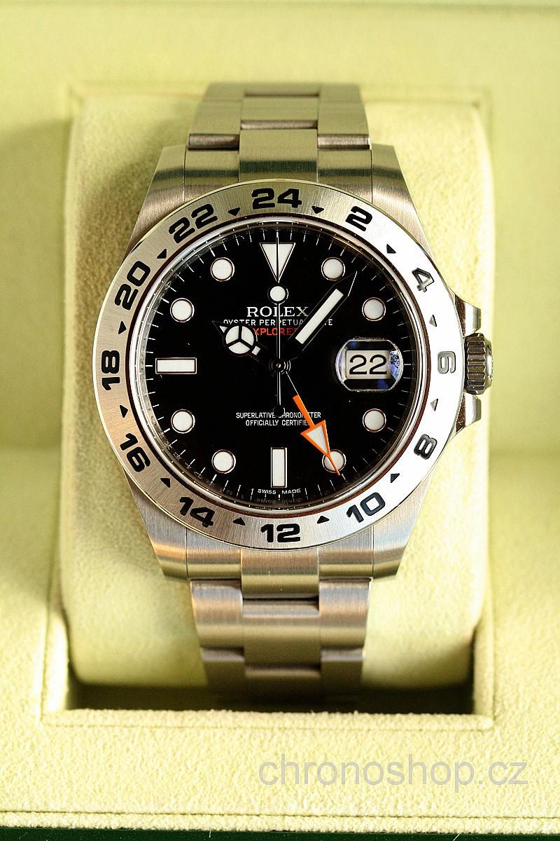 Rolex Explorer II BAZAR 420160014 - použité zboží a9a71e10c69
