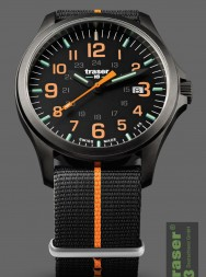 Traser P67 Officer Pro Gunmetal Black/Orange