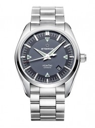 Eterna Kontiki Date black steel