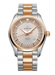 Eterna Kontiki Date grey steel gold