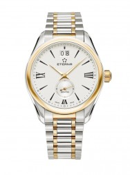 Eterna Lady Kontiki Quartz silver steel bicolor