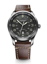 Victorinox AirBoss Mechanical black leather