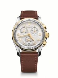 Victorinox Chrono Classic silver/gold leather