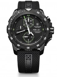 Victorinox Alpnach Mechanical Chronograph black textile