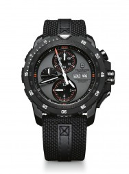 Victorinox Alpnach Mechanical Chronograph gray textile