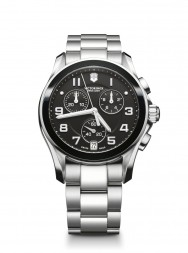 Victorinox Chrono Classic black ceramic steel