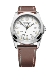 Victorinox Infantry white leather