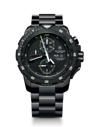 Victorinox Alpnach Mechanical Chronograph black steel