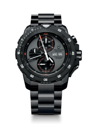 Victorinox Alpnach Mechanical Chronograph gray steel