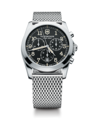Victorinox Infantry Chronograph black steel