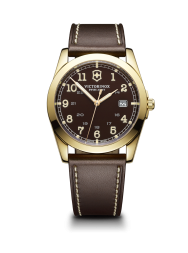 Victorinox Infantry brown leather