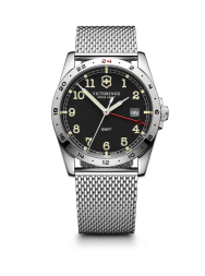 Victorinox Infantry GMT black steel