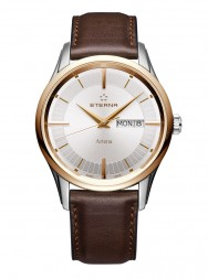 Eterna Artena Gent silver leather gold