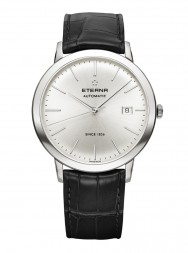 Eterna Eternity For Him Automatic silver leather