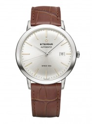 Eterna Eternity For Him Automatic silver/gold leather