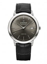 Eterna Eternity For Him Automatic charcoal leather