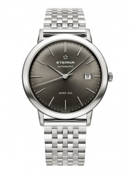 Eterna Eternity For Him Automatic charcoal steel