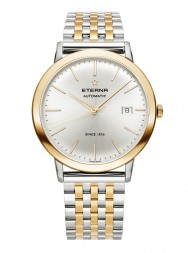 Eterna Eternity For Him Automatic silver steel bicolor