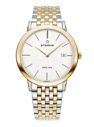 Eterna Eternity For Him Quartz 40 silver steel bicolor