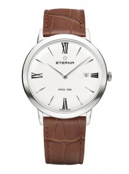Eterna Eternity For Her Quartz 40 silver leather