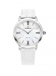 Eterna Eternity For Her Quartz 32 white MOP white leather