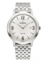 Eterna Eternity For Him Quartz 42 silver steel