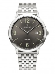 Eterna Eternity For Him Quartz 42 charcoal steel
