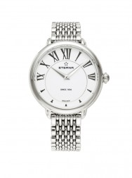 Eterna Lady Eterna Quartz white steel