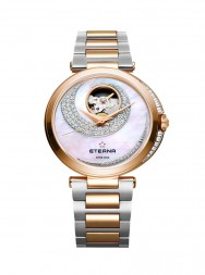 Eterna Grace Open Art white steel gold 73 diamonds